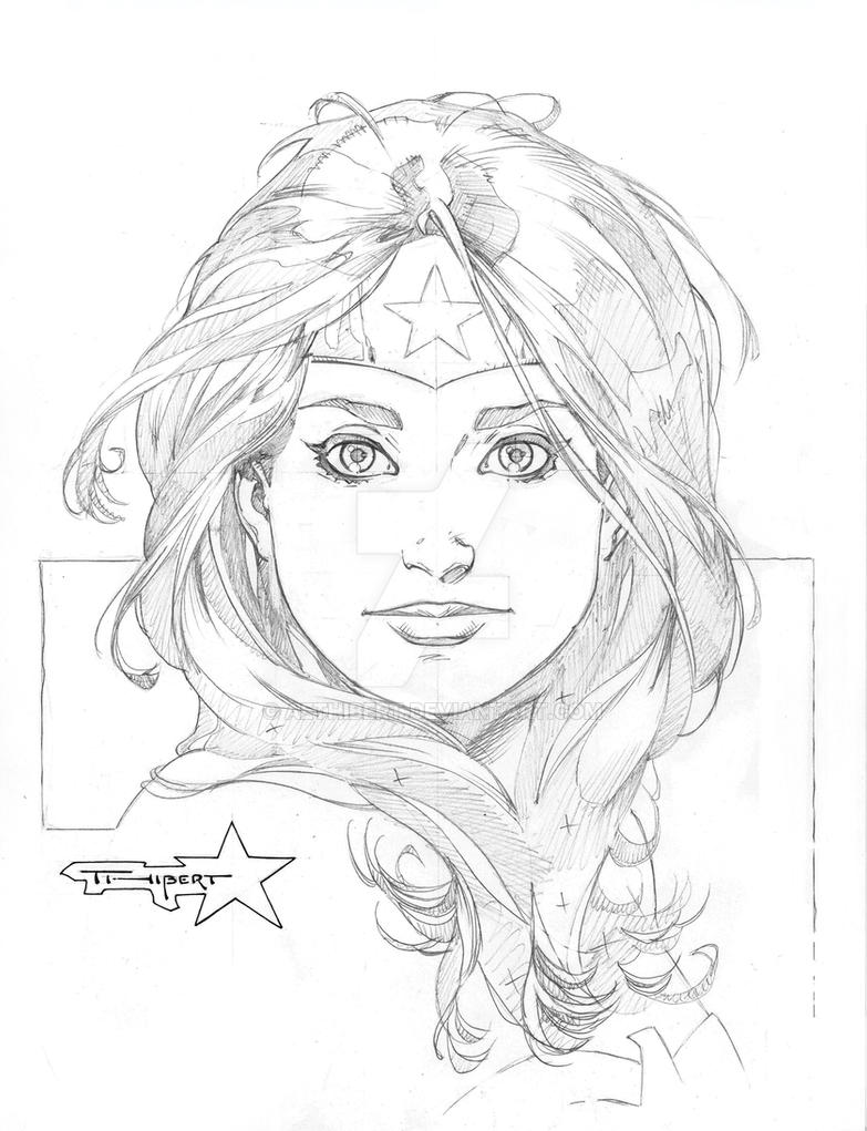 WW head sketch by aethibert