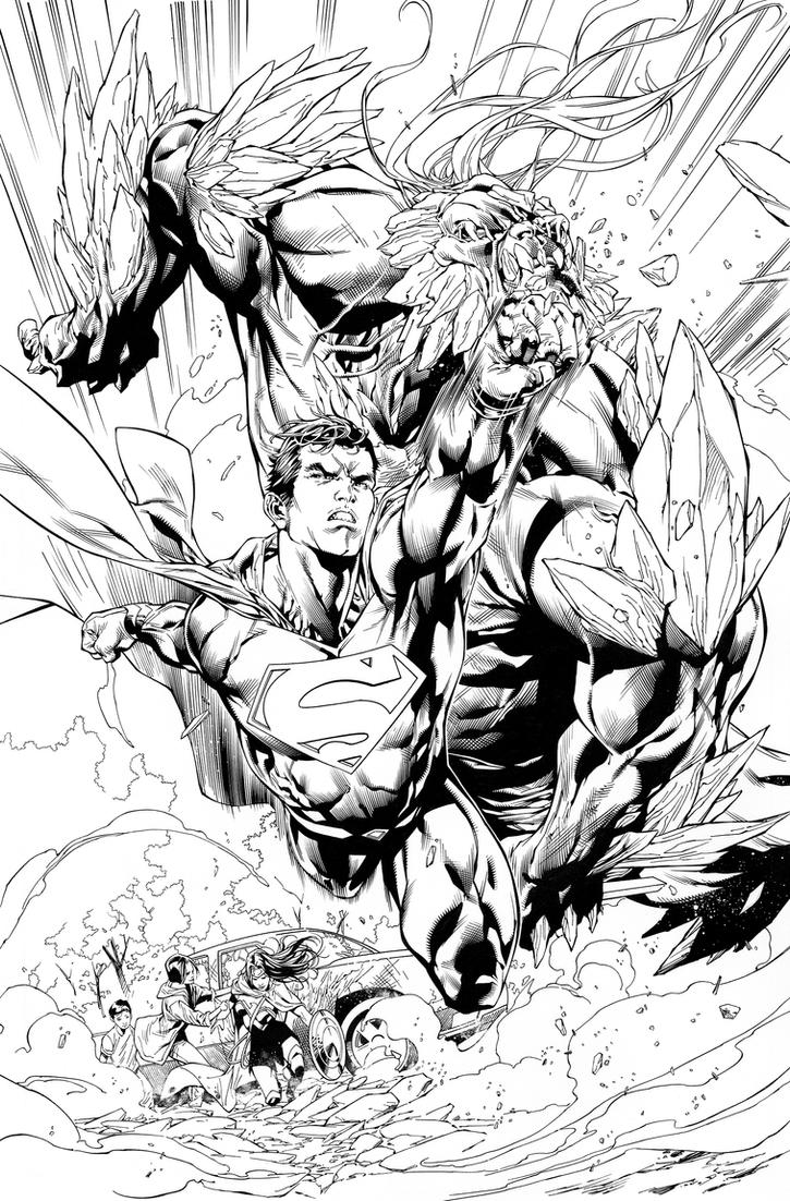 Action comics Issue 961 Page 6 by aethibert
