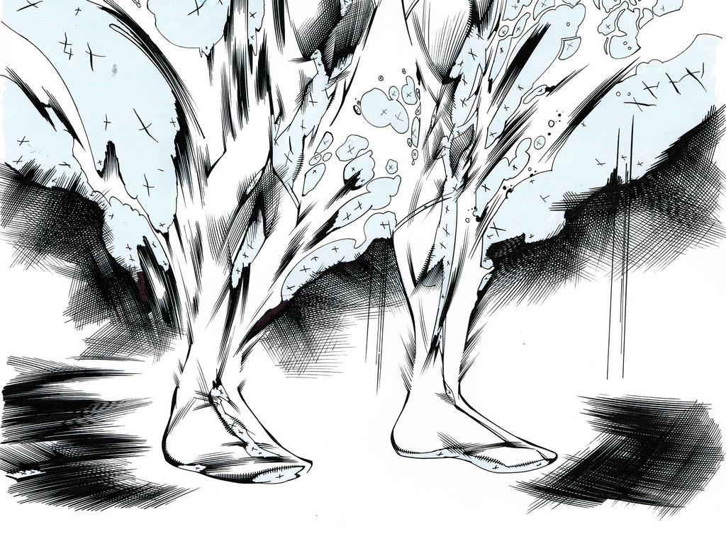 Action comics-Inks by aethibert