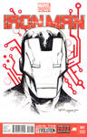 Ironman Sketch cover done!
