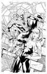 Spidey and Gwen Inks