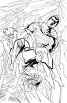 Inks from Action comics #974