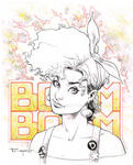 Boom Boom! Pre Con Commission Wonder Con 2017