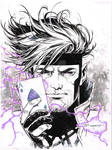 Gambit Wonder Con doodle 2017