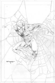 Spidey pencils