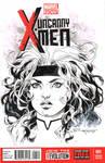 Rogue - Pre Con doodle for Comic Con Revolution