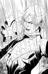 Superwoman issue 10 page 20 Inks