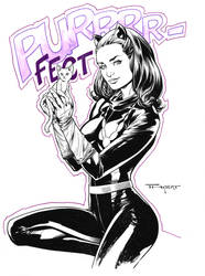 Catwoman (Batman 66) by aethibert