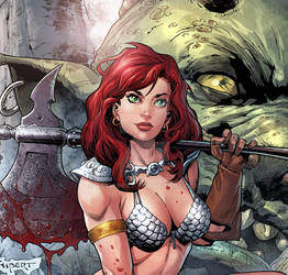 Red Sonja cover preveiw