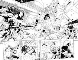 Wonder Woman Issue 37 Double Page