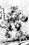 DARKSEID!  INKS from Wonderwoman, ENJOY!!!