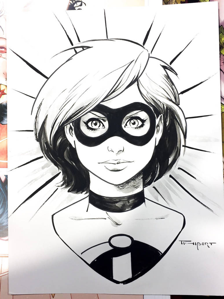 Doodle from Wonder Con 2019 by aethibert