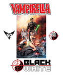 Vampirella Black and White variant cover