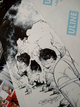 Skull rock is what is on the drawing board today.