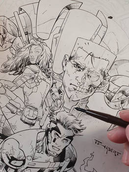 Black and White cover WIP