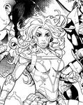 Black and White Vol 2 Cover tease.