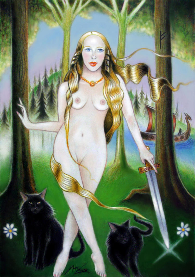 Freyja by elven21