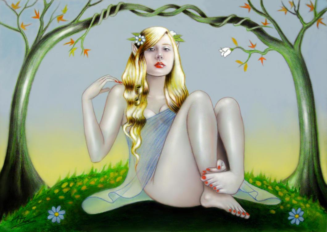 Leannan Sidhe by elven21