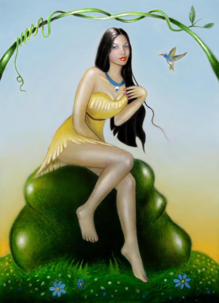 Pocahontas by elven21