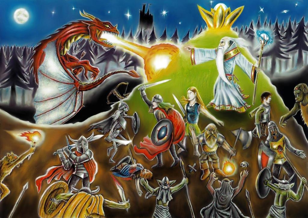 Fantasy by elven21