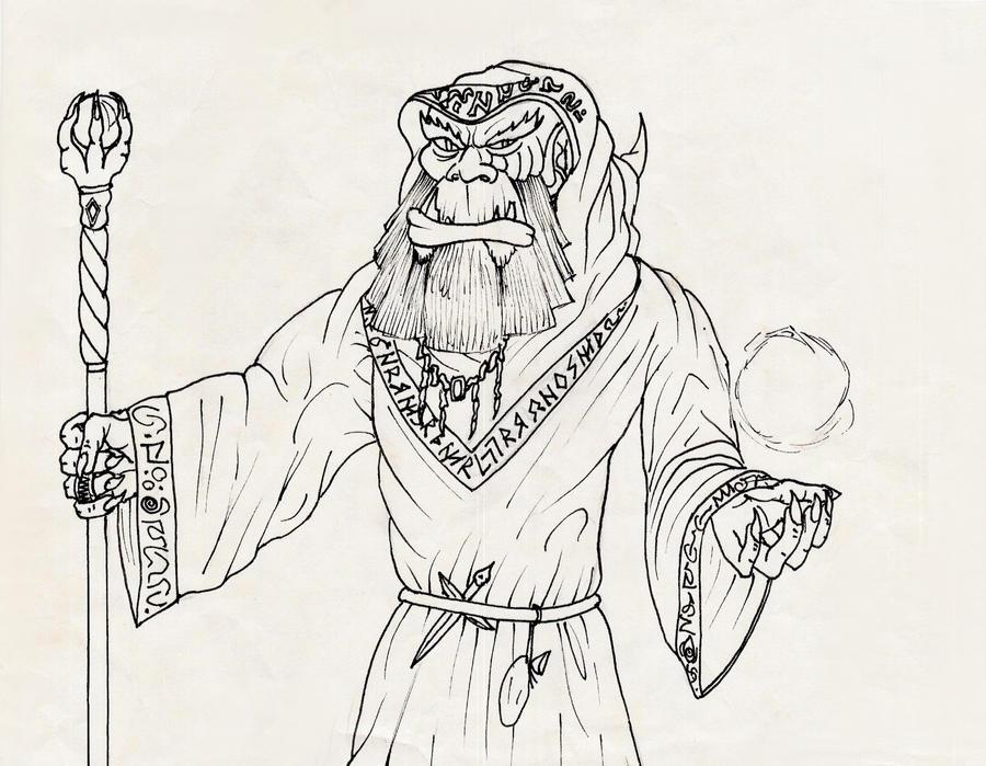 Gul'dan the Warlock by elven21