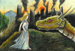 Nienor and Glaurung