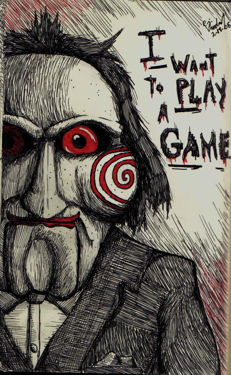 Jigsaw's Puppet by greengorilla3000 on DeviantArt