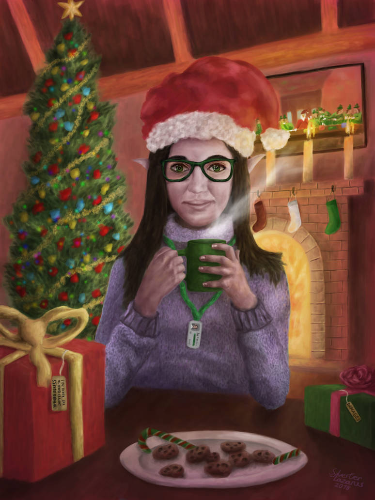 After the Christmas Rush by ToValhallaHUN