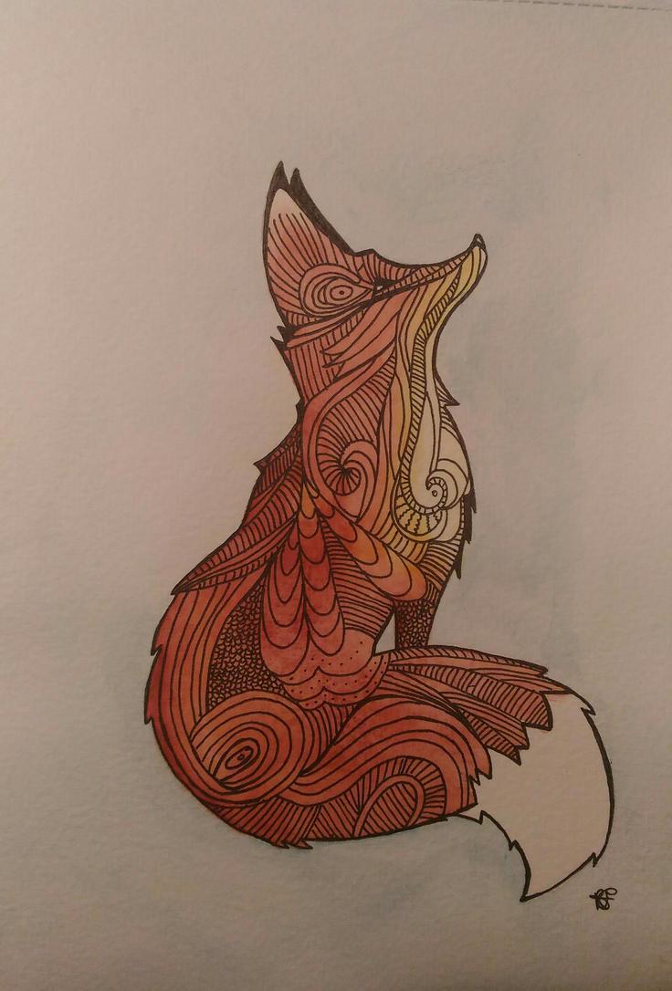 Funny fox by misselo83