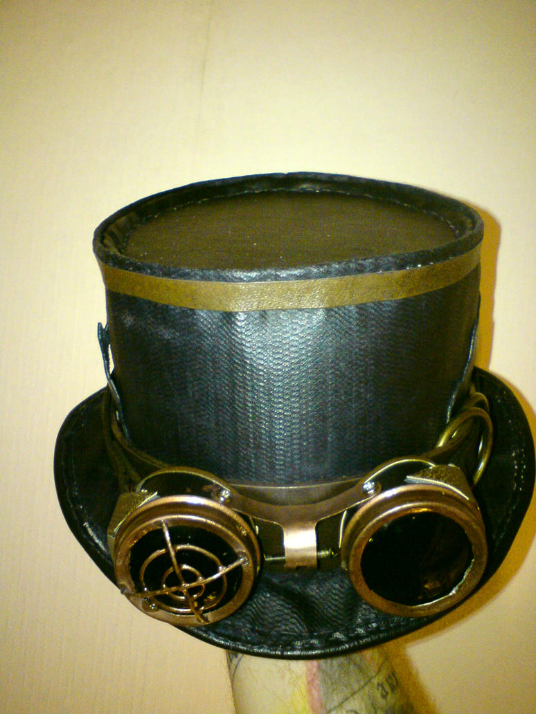 My steampunk goggles and hat. by vitriolfox on DeviantArt