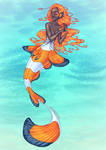 Clownfish Mermaid