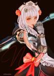 Genshin Noelle by minkyme068