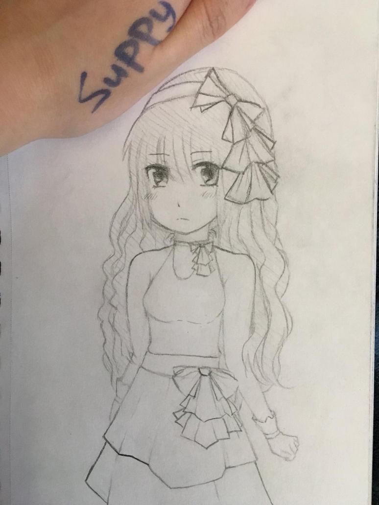 Princess sketch..? by Supbuddyboy