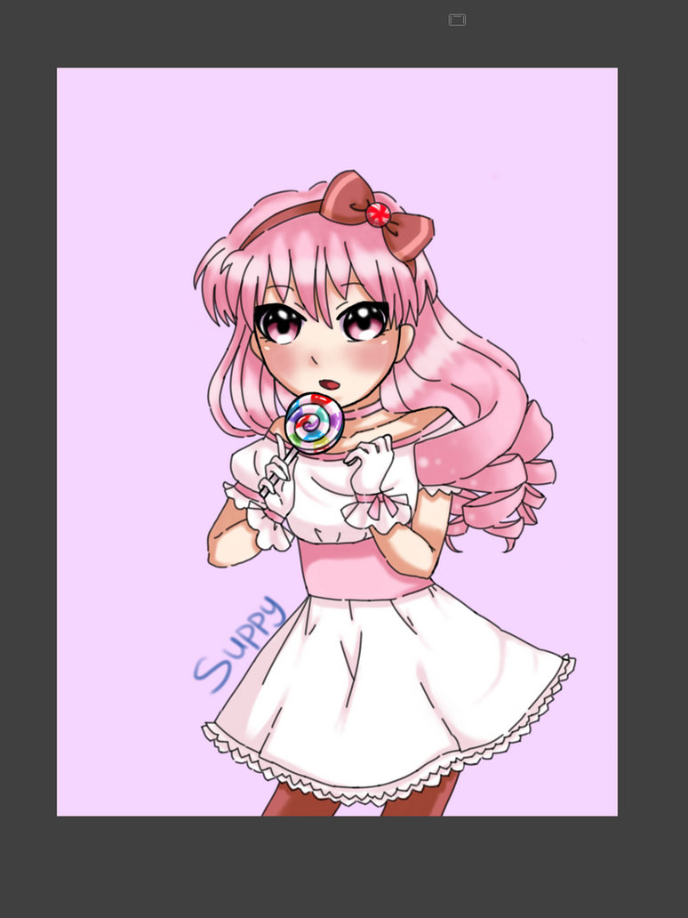 Candy girl by Supbuddyboy