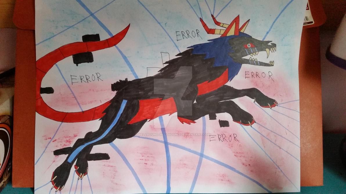My Top 5 Sans': ERRORTALE Sans by Hellbound-Hellhound