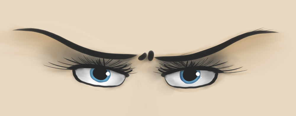 angry eyebrows by Beta1556 on deviantART