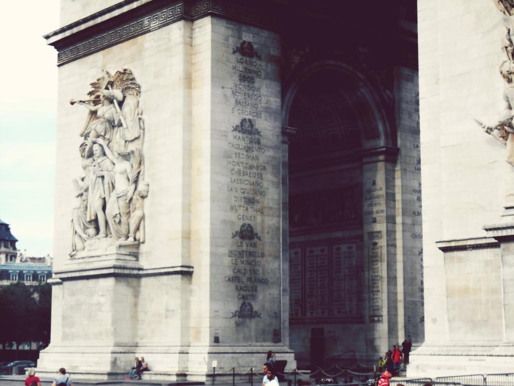 Arc de Triomphe by jessamaciejewski