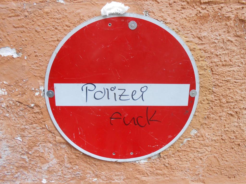 Fuck the Police! by jessamaciejewski