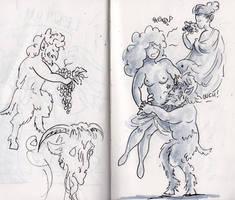 Dutch Castle Quick Sketches part 2