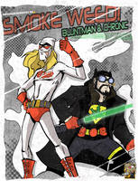 BluntMan And Chronic by TerryAlec