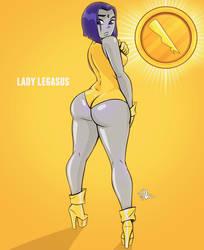 Lady legasus by TerryAlec