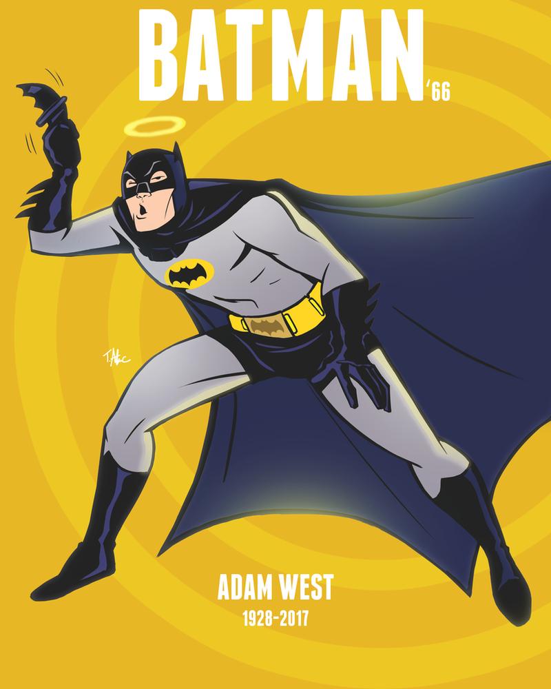 RIP Adam West by TerryAlec