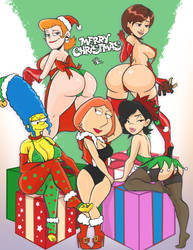 My top 5 Cartoon Milfs by TerryAlec