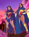 Wonder Woman and Nubia