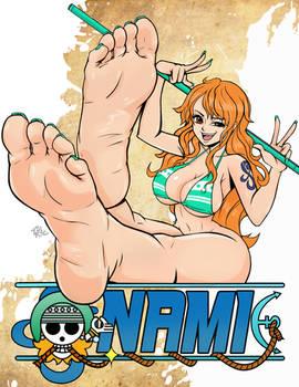 Nami The Foot Goddess