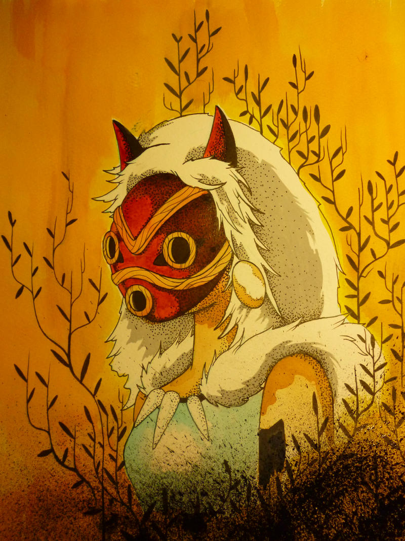 princess mononoke by WillPacheco88