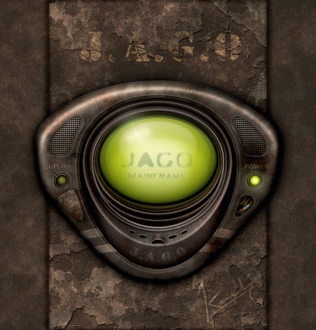 J.A.G.O - Grunge Interface by ChristianKarling