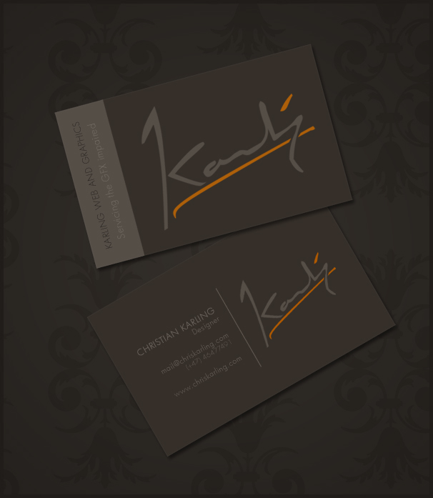 Business card concept by ChristianKarling