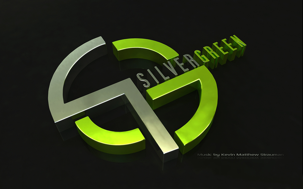 Silvergreen - 3d logo art by ChristianKarling