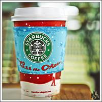 Holiday Starbucks by ieatSTARS